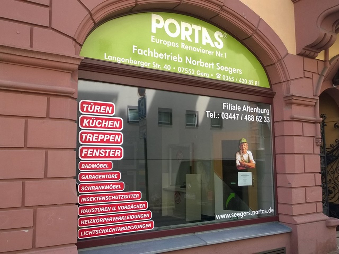 Galerie Portas Partner Norbert Seegers Ek Gera Langenberg